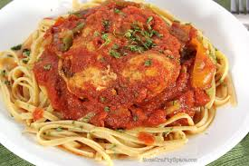 Snowy day recipes chicken Cacciatore
