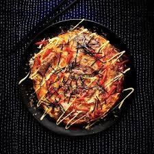 Okonomiyaki (Japanese Savory Cabbage and Pork Belly Pancakes)